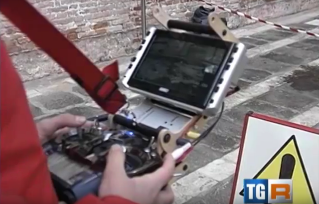 DRONE Venezia - Co. New Tech. monitoraggio sedi museali (TG3 regionale)