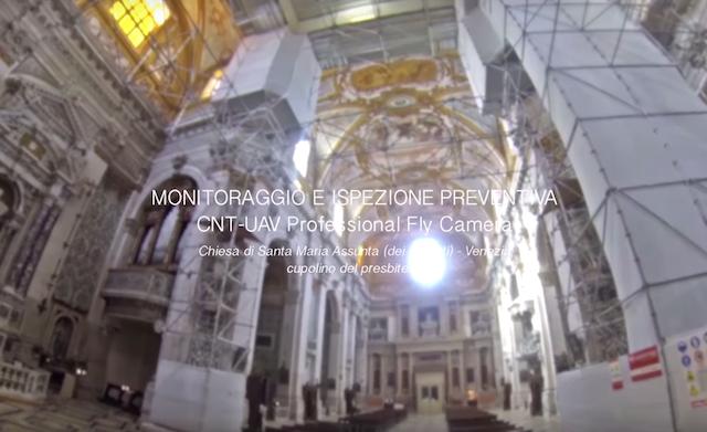DRONE Monitoraggio - Chiesa di Santa Maria Assunta GESUITI - Venezia