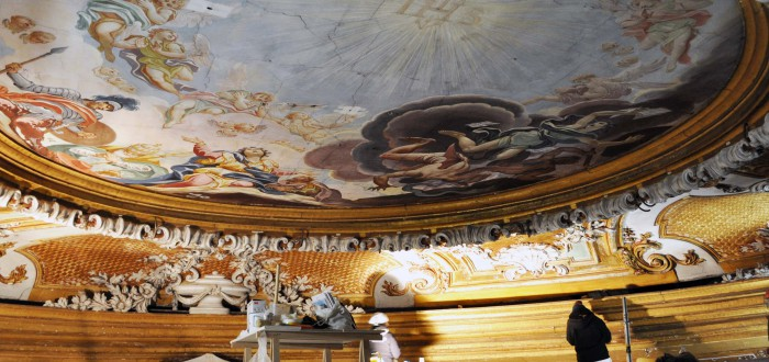 Restauro Chiesa dei Gesuiti